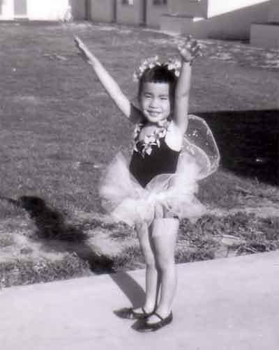 Ramona as a Ballerina