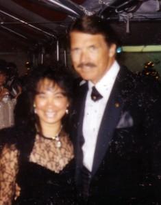 Ramona LeBaron and Chad Everett