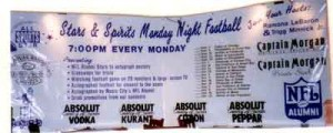 NFL Monday Night Football Banner