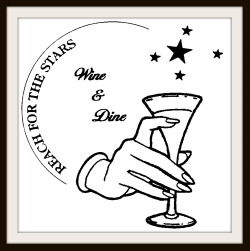 Reach for the Stars Wine and Dine Logo