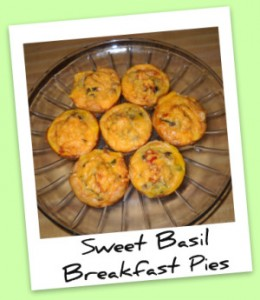 Sweet Basil Breakfast Pies
